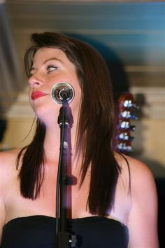 Portrait photograph of women singing at a gig #photography #photograph #picture #portrait #gig