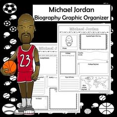 0010 LeBron James Biography Research Graphic Organizer Social