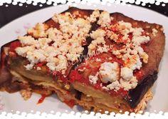 Λαζάνια με μελιτζάνες και φέτα στο φούρνο συνταγή από zoe vranikou - Cookpad Lasagna, Ethnic Recipes, Party, Desserts, Food, Tailgate Desserts, Deserts, Essen, Parties