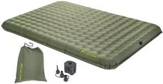 Most Comfortable Air Mattress Lightspeed Outdoors PVC-Free Air Bed with Battery Operated Pump