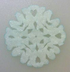 Making these with my students on Thursday!  All it takes is Borax, water, and some coffee filters!