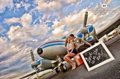 Up In the Wild Blue Yonder: An Aviation Themed Wedding! | One ...