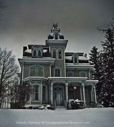 Forsaken Places: A Hazy Shade of Winter @ The Old Hegarty Mansion