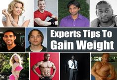 Experts Tips To Gain Weight