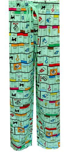 WebUndies.com Monopoly Board Unisex Lounge Pants