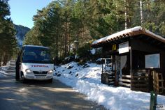 El autobús que sube hasta la Laguna Negra. #Soria