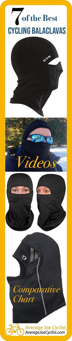This post shares everything you need to know about how to choose the best cycling balaclava, and compares 7 of the very best winter balaclavas. Winter Cycling Gear, Cycling Tips, Cycling Workout, Road Cycling, Bike Workouts, Swimming Workouts, Swimming Tips, Chest Workouts, Bicycle Women