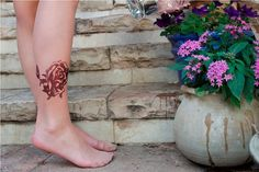 Printed Tights Rose  fashion tights / flower /  by tattotights, $22.00