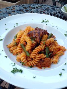 Bistro cosicosi❤︎ Today's Dinner❤︎ date.2015.4.2  ⋈牛ほほ肉とインゲンのフジッリ  #ビストロコジコジ
