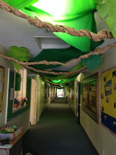 VBS Jungle Safari Our Hallway!