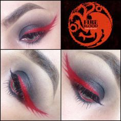 Game of Thrones makeup