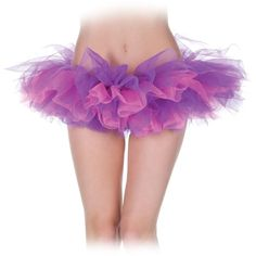 Pink And Purple Tutu Adult ($13) ❤ liked on Polyvore featuring costumes, halloween costumes, multicolor, colorful costumes, purple princess costume, purple costumes, princess costumes and pink princess costume
