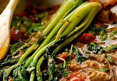 Choy Sum & Sausage Stir Fry - Chef Alan Takasaki