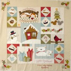Sugarplums quilt from Eat Cake Graphics