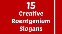 Roentgenium Slogans