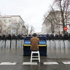 Ukraine, Kyiv, Euromaidan, 2014