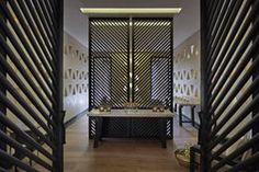 Rustic yet sophisticated, the design of Mandarin Oriental, Marrakech was undertaken by the French duo Patrick Gilles and Dorothée Boissier. Mandarin Oriental, Spa Treatment Room, Spa Breaks, Villa, Relaxation Room, Moroccan Design, Top Interior Designers, Amazing Spaces, Gallery