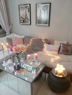 Image about white in New Room Decor by Living Room Ideas 2020, Living Room Decor, Living Rooms, Interior Decorating, Interior Design, Decorating Ideas, Decor Ideas, Light Decorations, Room Inspiration