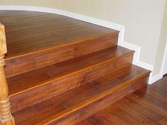 Engineered Wood Flooring On Stairs