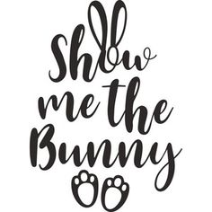 Silhouette Design Store: show me the bunny