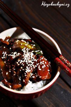Pikantní kuřecí maso s čínským zelím - Meg v kuchyni
