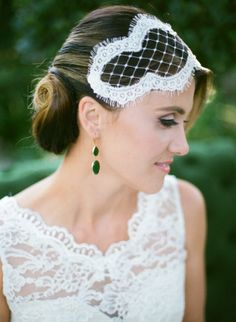 lace hair accessory