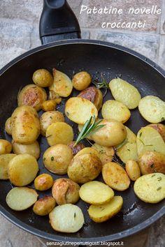 Senza glutine...per tutti i gusti!: Patatine novelle croccanti di Jamie Oliver