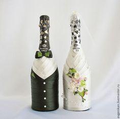 """Купить Свадебное шампанское """"Мы вместе)"""" - свадебное шампанское, шампанское на свадьбу, шампанское, жених и невеста"""