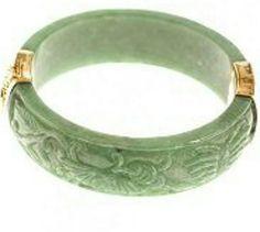Orient jade phoenix bracelet