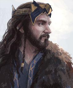 The King ang his crown