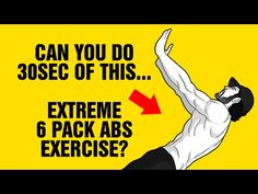 Extreme 6 Pack Abs & Core Exercise - Can You Do 30sec ? : Hollow Hold Rockers - YouTube