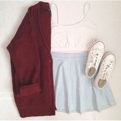 Imagem de fashion, outfit, and converse