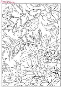 Раскраски взрослые антистресс волшебный сад, зачарованный лес, скачать бесплатно, раскраски для взрослых распечатать Blank Coloring Pages, Abstract Coloring Pages, Detailed Coloring Pages, Flower Coloring Pages, Coloring Books, Sharpie Doodles, Sharpie Art, Doodle Patterns, Doodle Borders