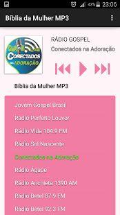Bíblia da Mulher MP3: miniatura da captura de tela