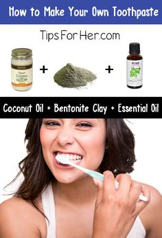 How to make an all natural toothpaste that whitens teeth and helps to reduce sensitivity. Remineralize the teeth and leaves your with fresh breath! Items Needed: 1 tbsp. Coconut Oil 1/2 tbsp. Bento...