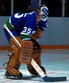 It began in After experimenting with designs off the ice for months, Montreal Canadiens goaltender Jacques Plante felt he had found the right kind of goalie mask to use for protection in a game, but there was just one problem. Nhl Hockey Jerseys, Ice Hockey Teams, Hockey Games, Hockey Players, Hockey Stuff, Hockey Logos, Vancouver Canucks, San Jose Sharks, Stanley Cup