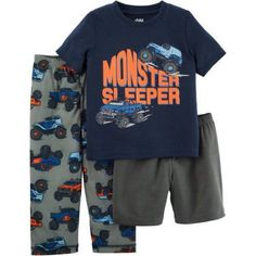 Child of Mine by Carter's Baby Toddler Boy 3 Piece Pajama Set, Size: 25 Months, Blue