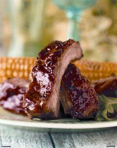 Žebírka Kansas City podle Zdeňka Pohlreicha Kansas City, Food 52, Steak, French Toast, Cooking Recipes, Beef, Breakfast, Party, Diet
