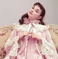 Audrey Hepburn in the play adaptation of GIGI in 1952.
