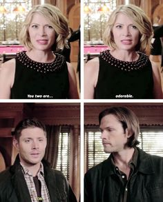 [gifset] 10x06 Ask Jeeves #SPN #Dean #Sam