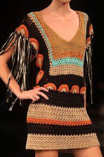 Nana crochê: Vestidos de crochê
