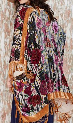 Call of the Wildflower Kimono