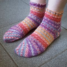 Ravelry: Tipsy Toe Socks pattern by Sybil R