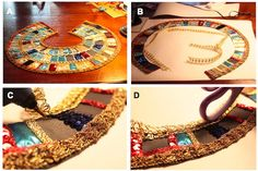 This tutuorial provides instructions on how to make an egyptian costume; however, with a vivid imagination and reconstruction it can provide belly dancing accessories as well.