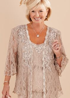 Glamorous Ann Balon special occasion outfits - mother of the bride dresses, mother of the groom dresses, evening dresses, cocktail dresses, plus size dresses and more. Ann Balon have been making dresses for over 25 years. Mob Dresses, Bride Dresses, Plus Size Dresses, Plus Size Outfits, Fashion Dresses, Formal Dresses, Mother Of Bride Outfits, Mothers Dresses, Grandma Dress