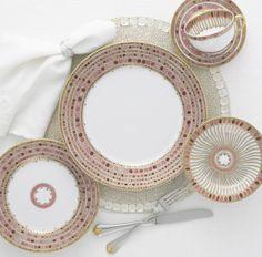 Mottahedeh dinnerware
