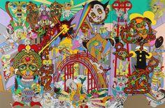 The Bridge to Another Wolrd | Keiichi Tanaami, The Bridge to Another Wolrd (2011)
