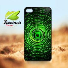 iPhone 4 4s / 5 Case  Green lantern Superhero Logo by DavinciiCase, $14.50