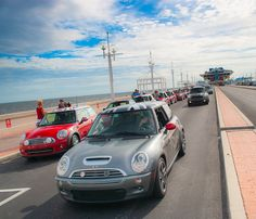 MINIs on The Pier in Saint Petersburg FLA for Surreal Sunday - Number 1