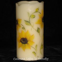 Flameless LED Memorial Candle  Personalized Hand by CovenantLights, $20.00